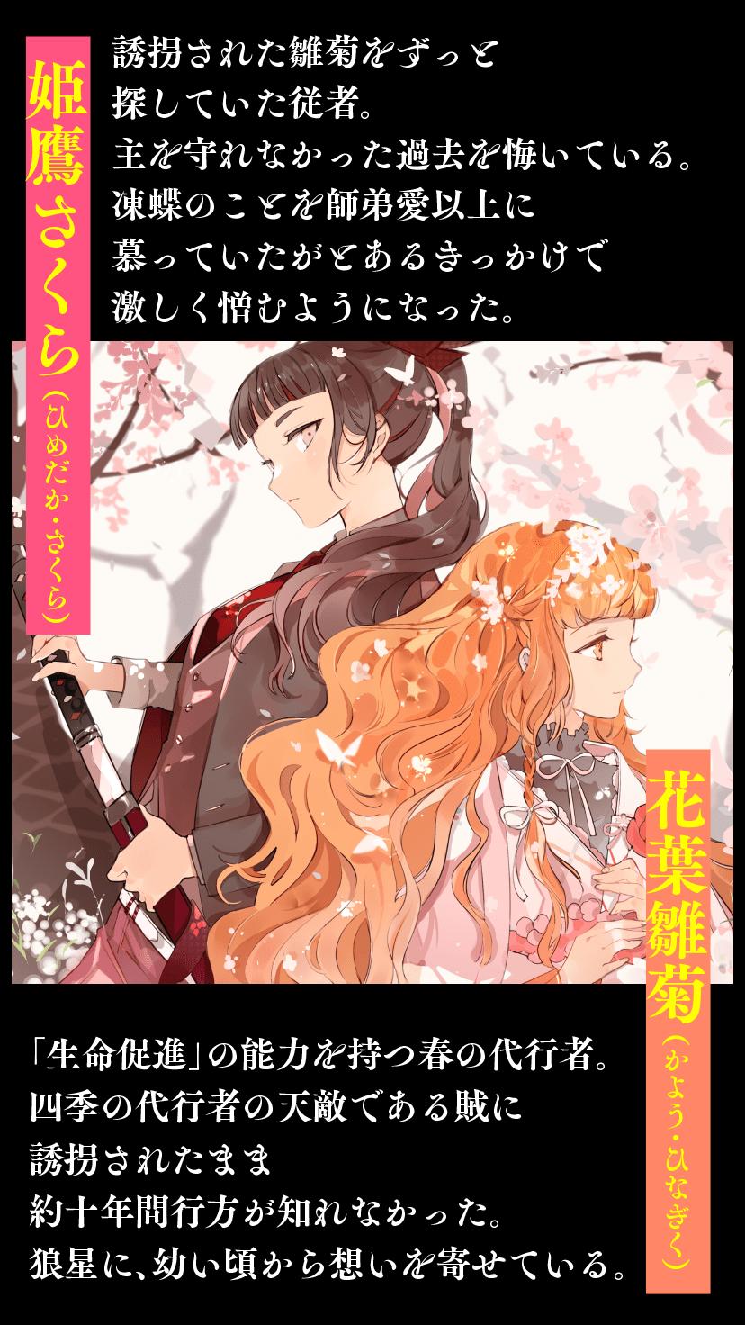 姫鷹さくら/花葉雛菊